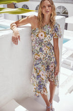 Load image into Gallery viewer, ASTR THE LABEL Santorini One Shoulder Midi Dress