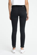 "Load image into Gallery viewer, DAZE DENIM ""Call You Back"" Ankle High Rise Skinny Jeans - Tinted Windows"