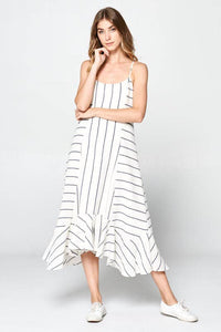 ELLISON Directions Stripe Dress