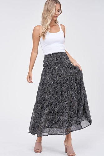 EN SAISON Carrie Tiered Skirt