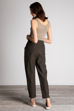 Load image into Gallery viewer, GRADE & GATHER Tapered Justin Linen Pants