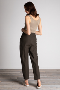 GRADE & GATHER Tapered Justin Linen Pants