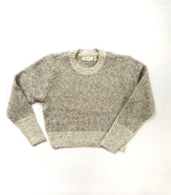 Load image into Gallery viewer, RDStyle_shiloh_crewneck_sweater_white_beach_knitwear_THDShoppe