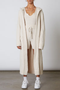 NIA Hooded Duster Cardigan
