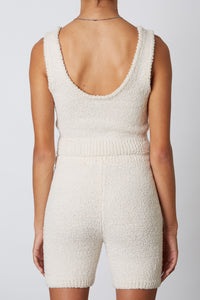 NIA Notched Sweater Tank