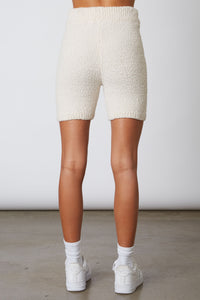 NIA Sweater Knit Biker Short