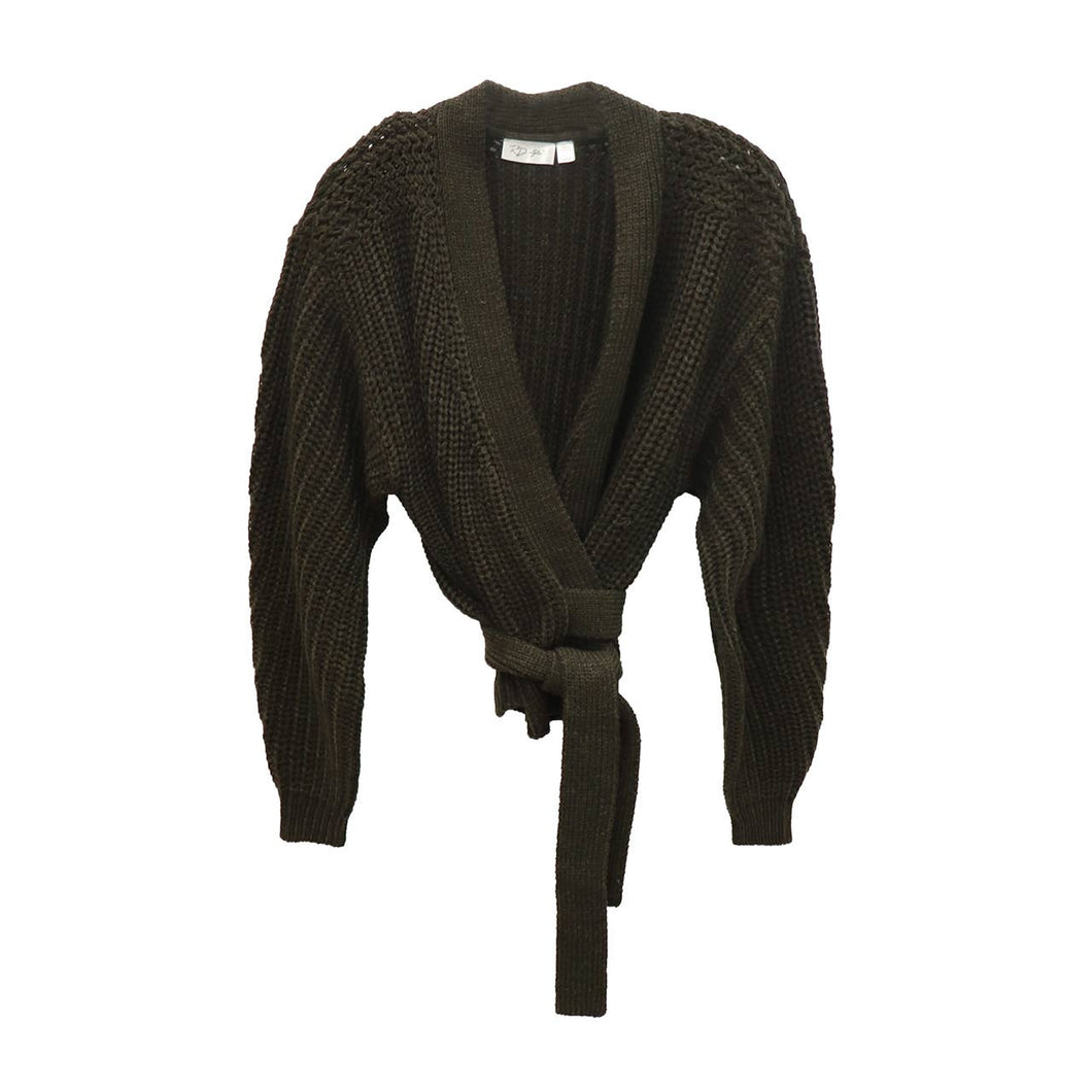 RD STYLE Natalie Chunky Wrap Cardigan
