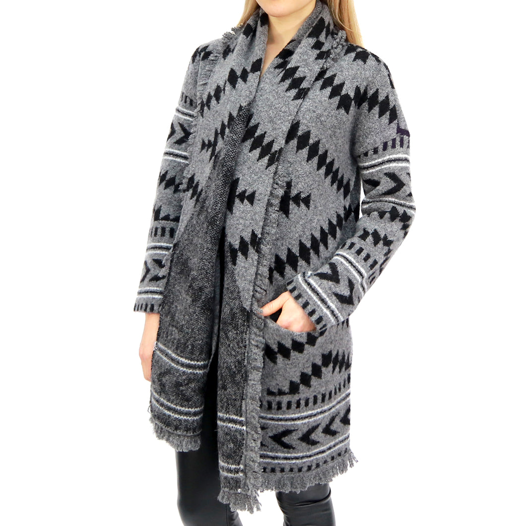 RD STYLE Isabelle Belted Knit Sweater Coat