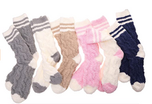 Load image into Gallery viewer, THD SHOPPE Fuzzy Boucle Cabin Socks
