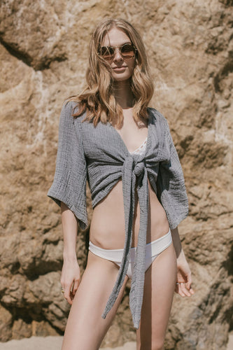 THE HANDLOOM Bali Wrap Top