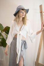 Load image into Gallery viewer, THE HANDLOOM Bali Wrap Top