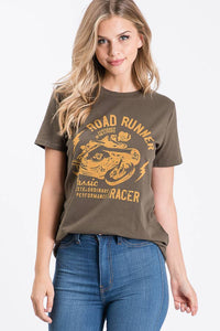 "TRES BIEN ""Road Runner"" Graphic Tee"