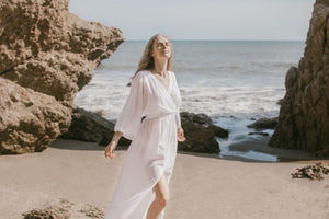 THE HANDLOOM Malibu Wrap Maxi Dress