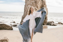Load image into Gallery viewer, THE HANDLOOM Malibu Wrap Maxi Dress
