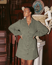 Load image into Gallery viewer, CHARLIE HOLIDAY Rogue Corduroy Dress
