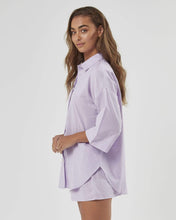 Load image into Gallery viewer, CHARLIE HOLIDAY Harlow Oversized Shirt
