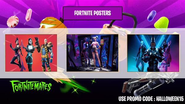 Fortnite Shop Posters