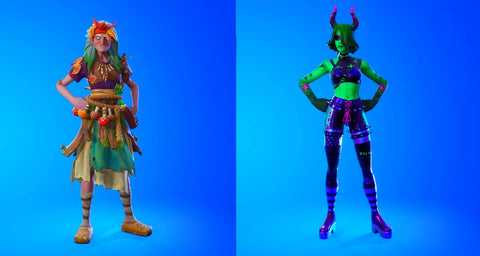 Fortnitemares Baba Yaga and Ravina