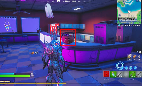 Fortnitemares challenges candy