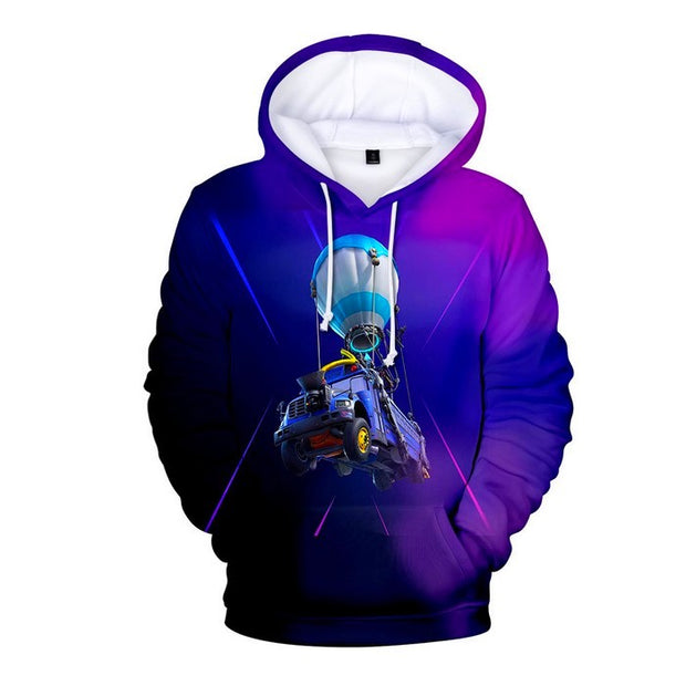 Fortnite Hoodie Boys Battle Bus