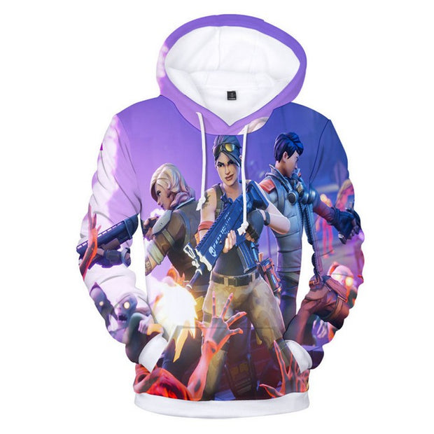 Fortnite Hoodie Boys Save The World