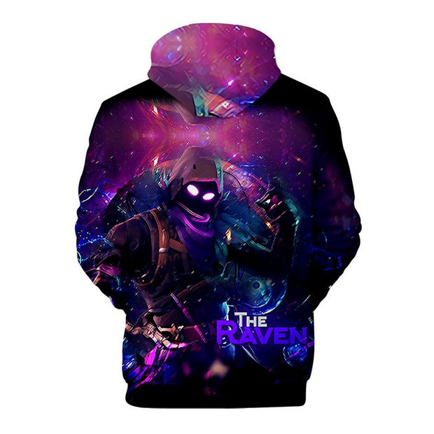 Fortnite Hoodie For Boys The Raven