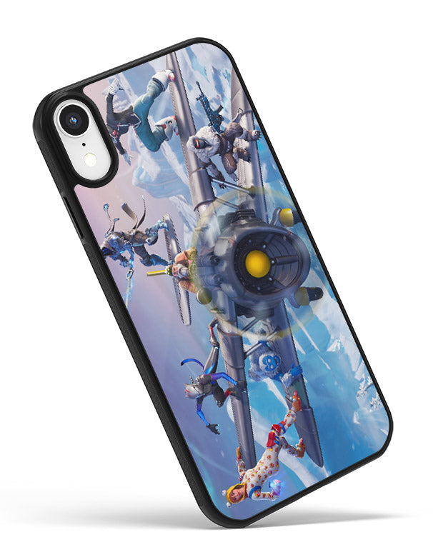 Fortnite iPhone Case Winter