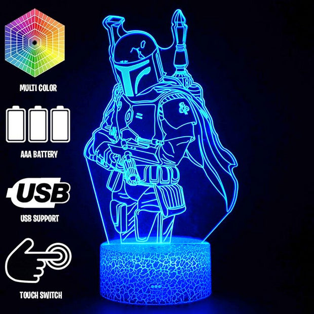 Fortnite Lamps Mandalorian