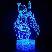 Fortnite Lamp Mandalorian