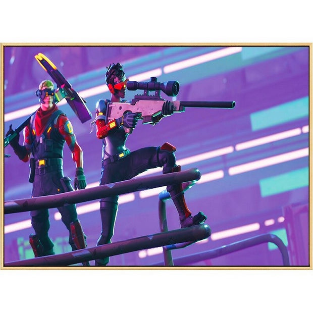 Fortnite painting sniper shot