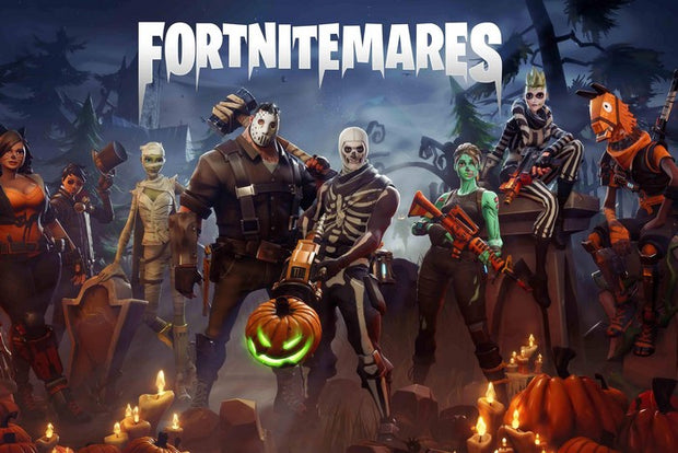 Fortnite Stickers Halloween PS4