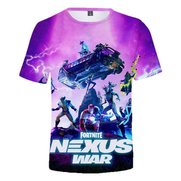 Fortnite T-Shirt Boys Nexus War