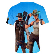 Fortnite t-shirt Boys Western Wilds