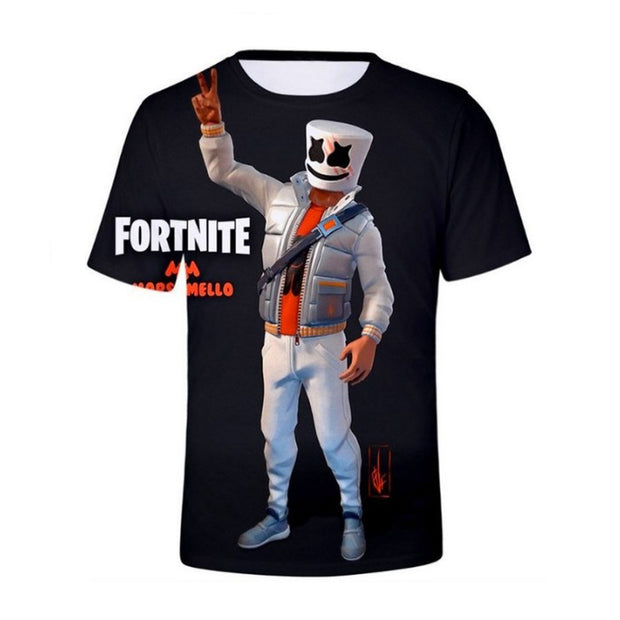 T-Shirt Fortnite Marshmello