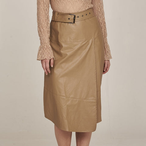 Nu Denmark | Gianna Faux Leather Skirt