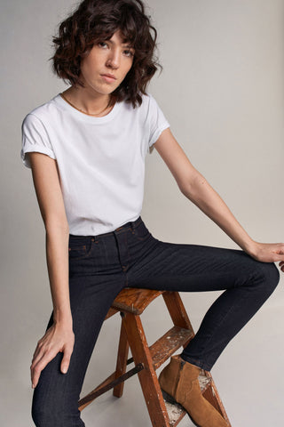 Secret Push In Skinny Jeans with Dark Rinse (122637)