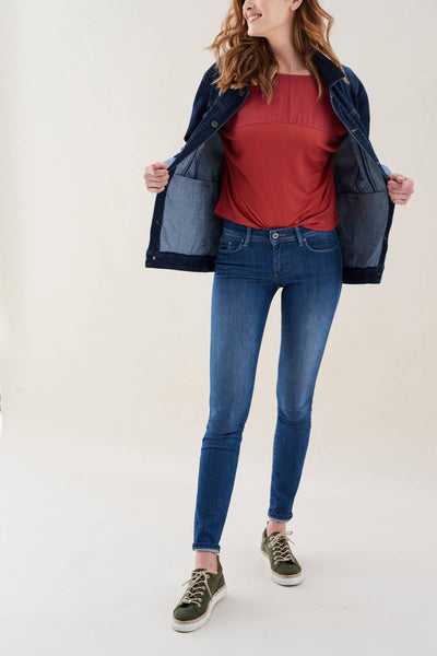 Skinny Push Up Wonder Jeans (116422)