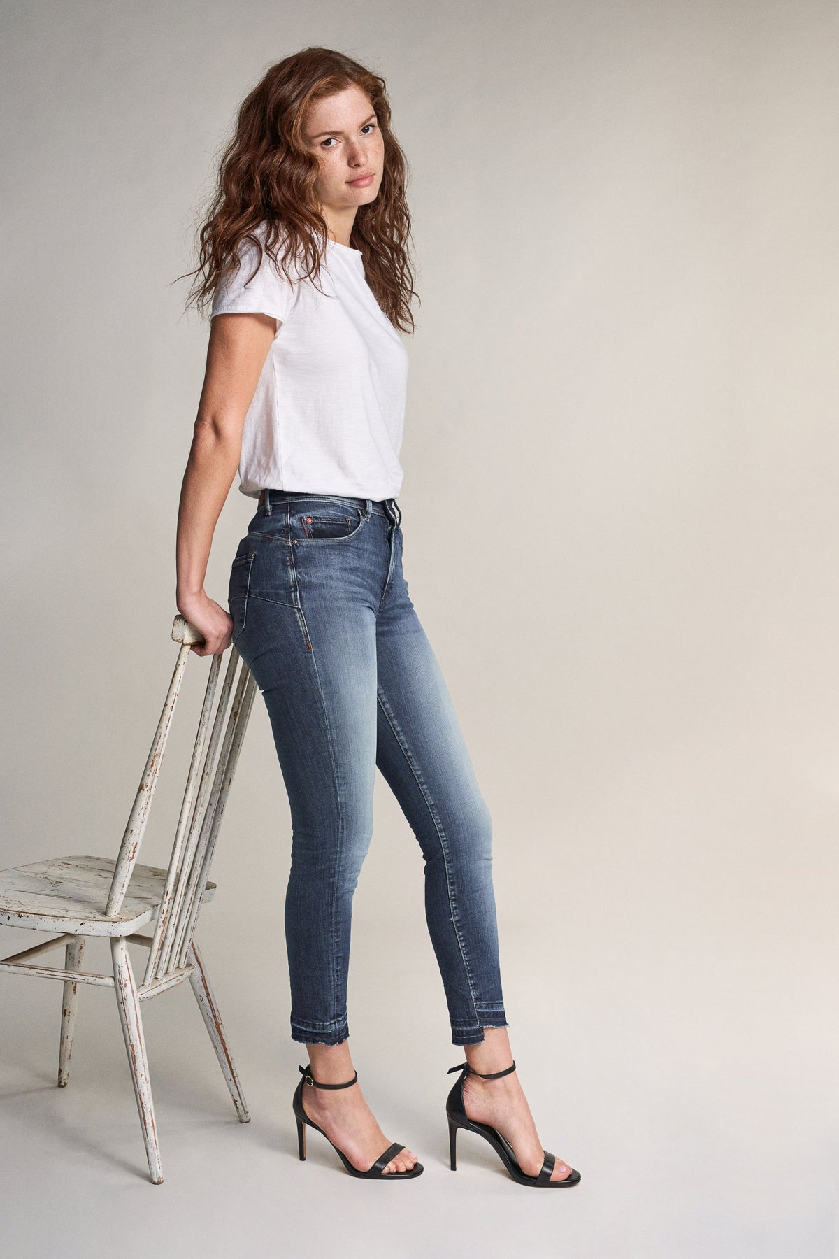 Secret glamour push in capri - Premium Wash Jeans (119633)