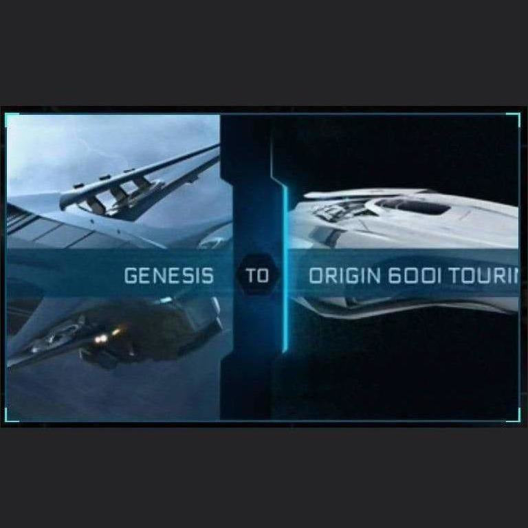 Genesis to 600i Touring | Upgrade | Might | Space Foundry Marketplace.
