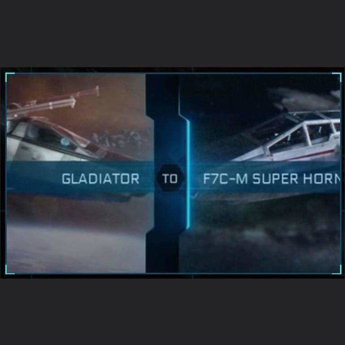 Gladiator to F7C-M SUPER HORNET | Might | Space Foundry Marketplace