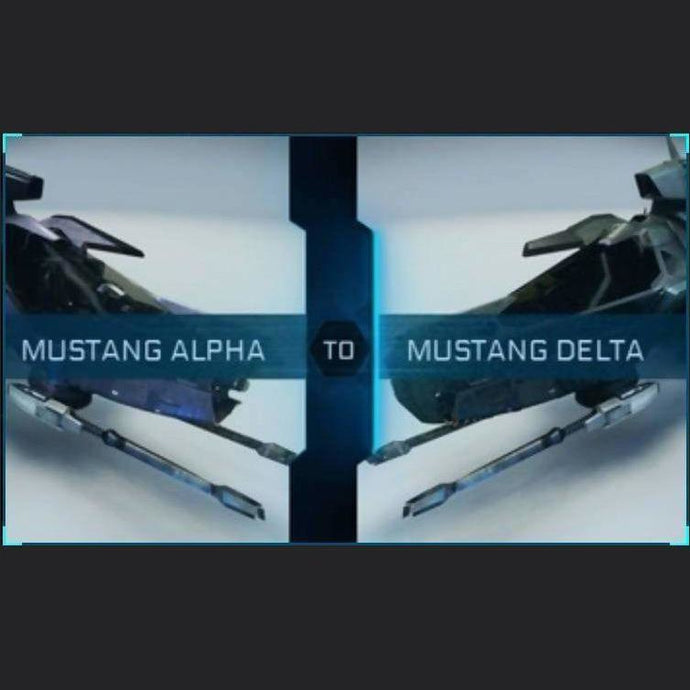 Mustang Alpha to Mustang Delta | Upgrade | Might | Space Foundry Marketplace.