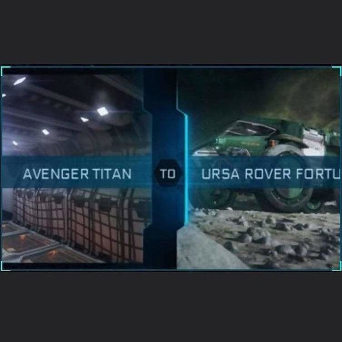 AVENGER TITAN TO URSA ROVER FORTUNA | Upgrade | Might | Space Foundry Marketplace.