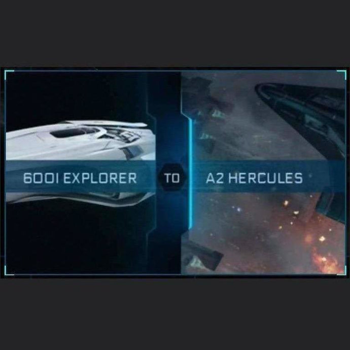 600i Explorer to A2 Hercules | Might | Space Foundry Marketplace