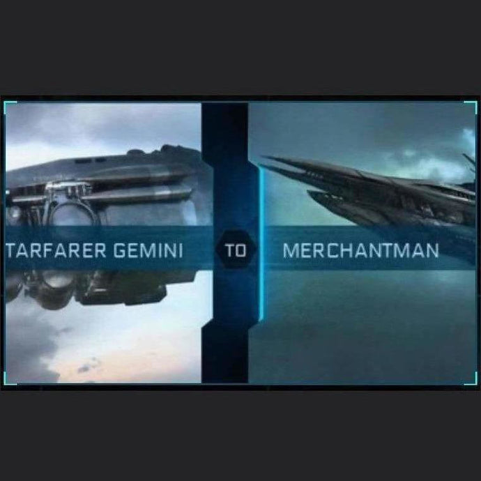Starfarer Gemini to Merchantman | Upgrade | Might | Space Foundry Marketplace.