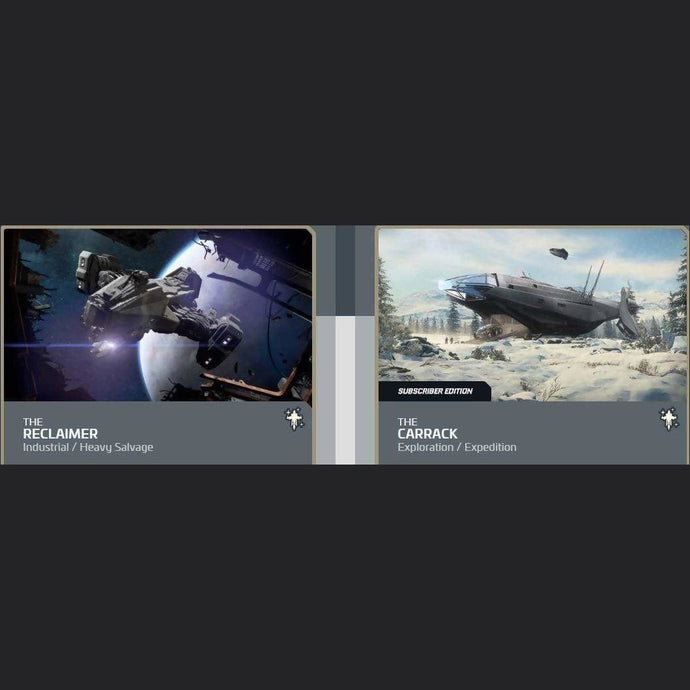 UPGRADE - RECLAIMER TO CARRACK SUBSCRIBER EDITION | Upgrade | JPEGS STORE | Space Foundry Marketplace.
