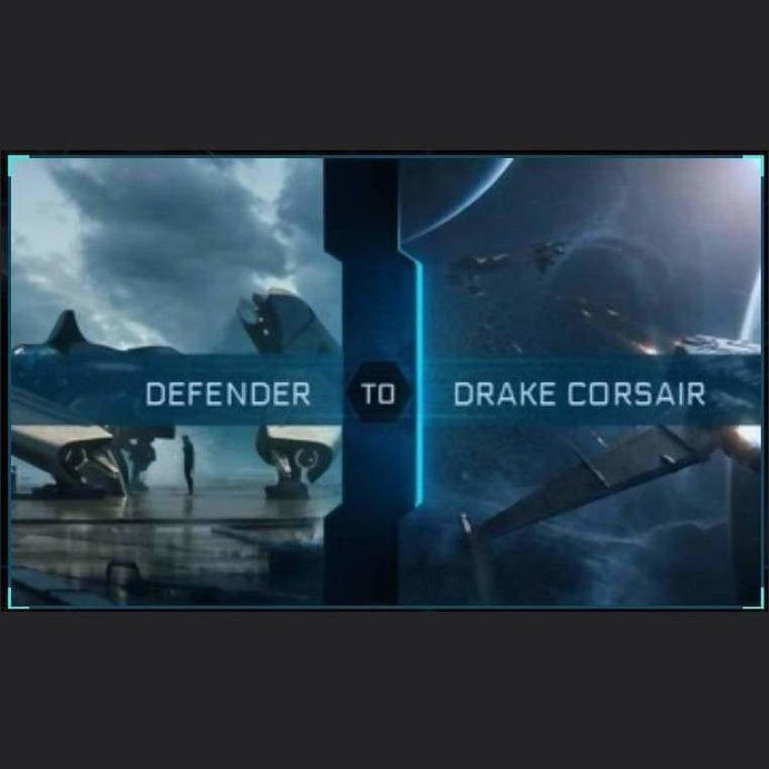 Defender to Corsair | Upgrade | Might | Space Foundry Marketplace.