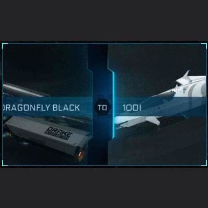 DRAGONFLY BLACK TO 100I | Upgrade | Might | Space Foundry Marketplace.