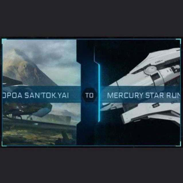 SAN'TOK.YAI TO MERCURY STAR RUNNER | Might | Space Foundry Marketplace