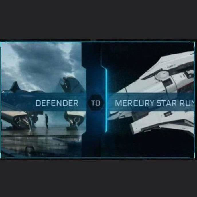 Defender to Mercury Star Runner | Upgrade | Might | Space Foundry Marketplace.