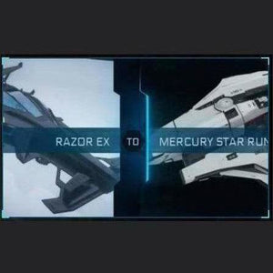 Razor EX to Mercury Star Runner | Might | Space Foundry Marketplace